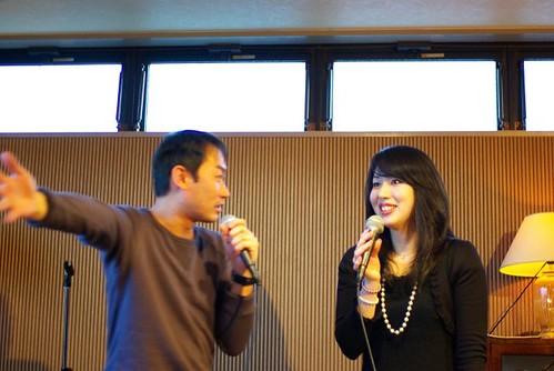 相田翔吾さんと浜田麻美子さん