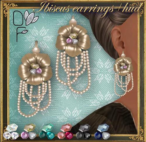 IBISCUS earrings