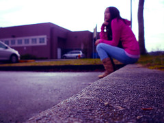 Waiting (Julie Tao) Tags: chris school girl happy lumix still friend perfect waiting christ god good parking jesus joy smiles lot excited things lord christian panasonic planning forever greater yet cheerful beautifull timing tomlin surprises 2011 fs15