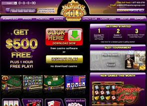 Mummy's Gold Casino Home