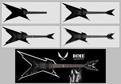 Dean Razorback Dime Signature in the making (Λlιиyя϶hƧ (www.alisheryn.com)) Tags: music art photoshop signature dean guitars dime dimebag darrell pantera