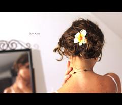 Sun kiss (-eLo- 365) Tags: portrait flower reflection hair neck mirror highkey 365 nape project365 canoneos550d cambridgeukphotographer