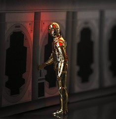 """Oh, I'm going to regret this!"" (Decepticreep) Tags: starwars empire rebellion kenner escapepod droid c3po anthonydaniels anewhope threepio seethreepio episodeiv tantativeiv"