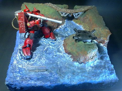 Gundam Diorama Tutorial Gundam Diorama