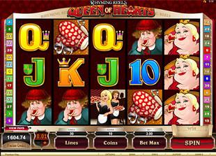 Rhyming Reels: Queen of Hearts slot presents
