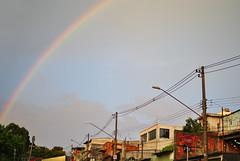 """""""Arcoro"""" (De Santis) Tags: city iris cidade sky arcoiris 35mm rainbow nikon cu sp paulo arco so d3000"""