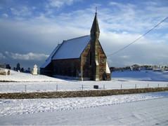 St. John's Church, Ardamine (Nigel.Pluck) Tags: ireland winter snow church architechture bluesky wexford oldchurch wintersun courtown winter2010 ardamine