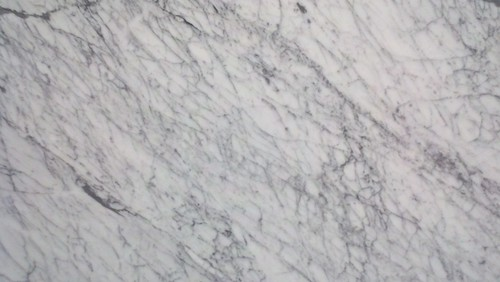 White Paint For Kitchen Cabs With Carrara Marble