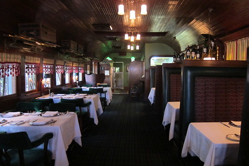 Pacific Dining Car: Interior