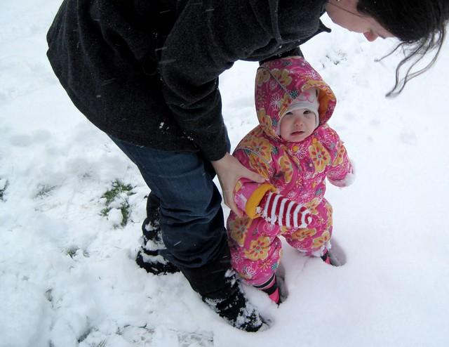 Sad Snow Baby