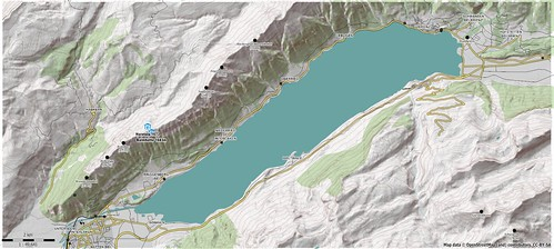 Brienzersee hiking map using Viewfinder's Alps SRTM1 DEM