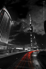Burj Khalifa  II - dubai (  || WALEED PHOTO) Tags: butterfly photo nikon dubai khalifa waleed burj  d300