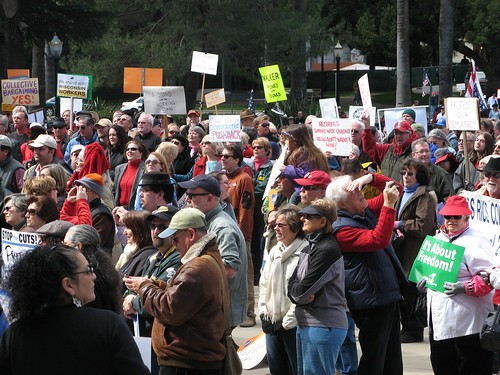 Fwd: 2/26 rally photos from Sacramento by Robin Kozloff