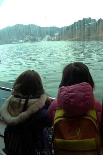 On the way to Nami Island