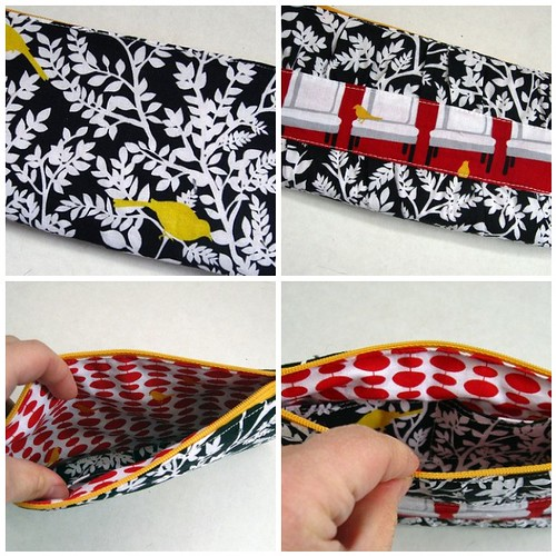 Gathered Clutch from Noodlehead