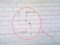 FNE Nazi Vandalismus - Hakenkreuzschmierer in Euskrichen Innenstadt - Nähe Tartarus