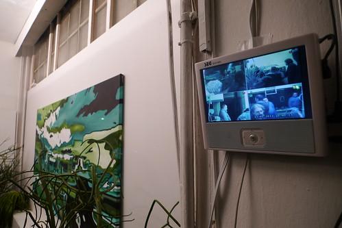 Grünzeug im City Watch Office von Sandip Shah. Februar 2011