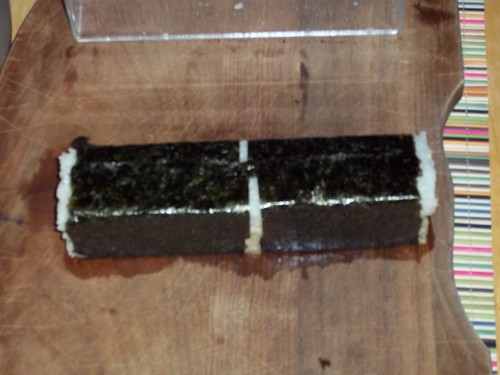 Wrap the nori