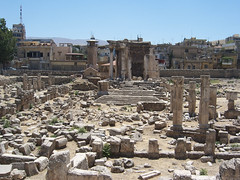 Auxiliary Excavations at Baalbek (I) (isawnyu) Tags: lebanon rome building history stone architecture temple ancient roman pillar masonry ruin structure civilization column colonnade baalbeck baalbek conna pleiades:depicts=668231