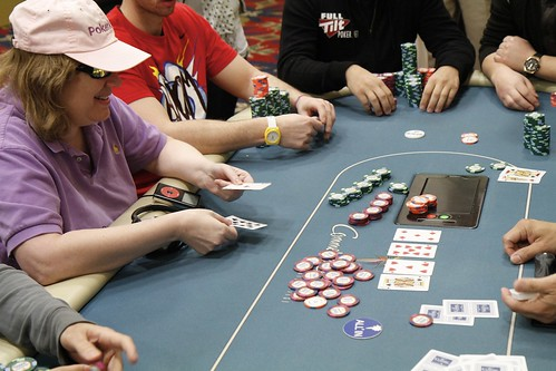 9549 Kathy Liebert Busts in 18th Place