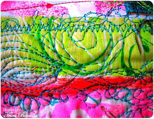 free motion stitching