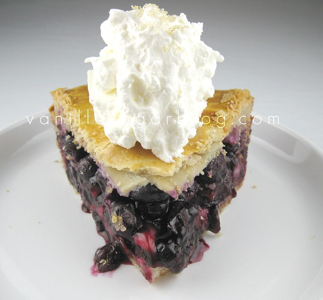 why wait for summer to have blueberry pie and why have boring pie let ...