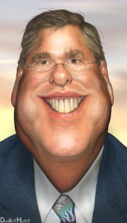 From flickr.com/photos/47422005@N04/5495721066/: Jeb Bush - Caricature