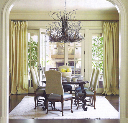 earthy dining room suzanne kasler