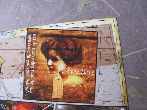 Travel Map Postcard 004
