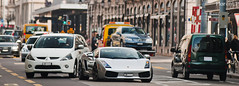 Lamborghini Gallardo (Lambo8) Tags: city horse car grey gris switzerland photo hp italian nikon italia power suisse geneva d s ferrari german 200 28 af gt nikkor audi 80 genve lamborghini f28 supercar 520 ch gallardo 80200mm quattro 80200 80mm 200mm afd grise d80 rs5 hypercar worldcars