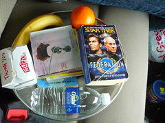 (joe j howe) Tags: startrek orange water banana paperback arthurcclarke thaifood ceedees 3001