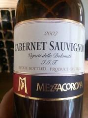 2007 Mezzacorona Cabernet Sauvignon