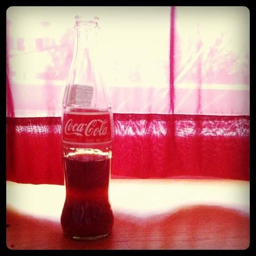 Coke on a gloomy day