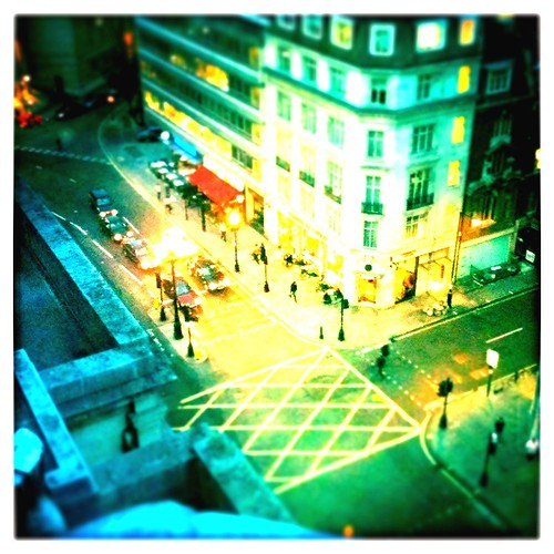 Tilt Shift Picture of Regent Street London
