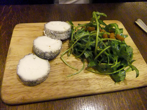 Aged Goat Cheese, La Regalade Saint Honore