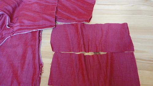 07.Mar.11 Pakistani tunic makeover: sleeve edges