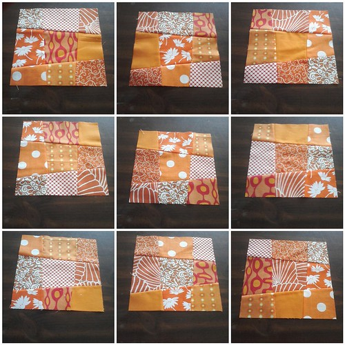 orange blocks 1-9