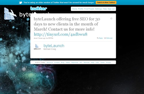 Free SEO Services for 30 days