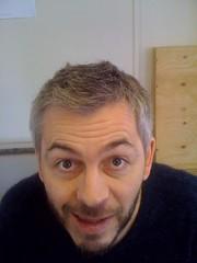 Hugh Hughes - my haircut (11 March 2011)