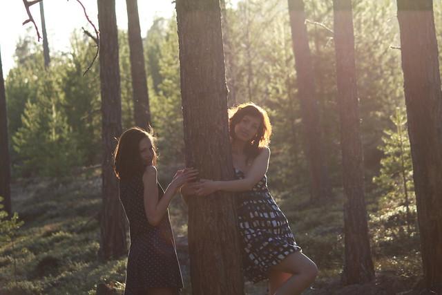 Amanda and Aleksandra