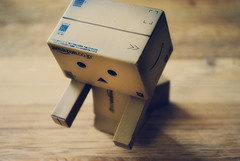 Thinking about those in Japan (Lucy*Lou) Tags: danbo danboard