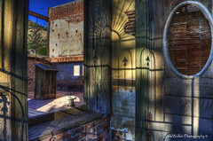 Bartlett Hotel - Jerome AZ (ZannWalker) Tags: arizona southwest west building abandoned architecture paintshop hotel photo nikon az historic pro jerome hdr 28300mm bartlett topaz x3 photomatix d700
