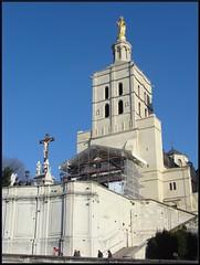 Cathédrale Notre-Dame des Doms - Avignon (tautaudu02) Tags: architecture landscapes villages des cathédrale notre dame monuments avignon paysages doms