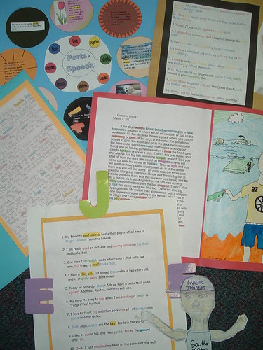 Partof Speech Projects 2011