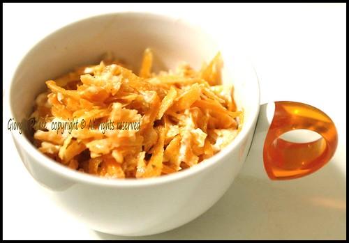 insalata carote turca