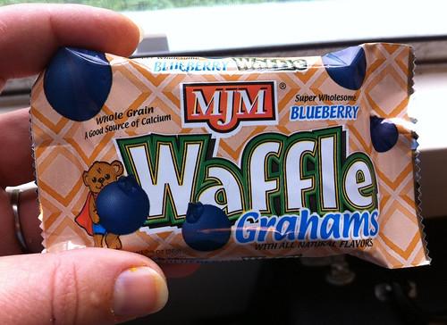 Blueberry Waffle Graham