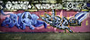 Blavoe - Cithe - Leake Street Mar 2011 (303db) Tags: street uk england london art graffiti can spray waterloo lambeth leake