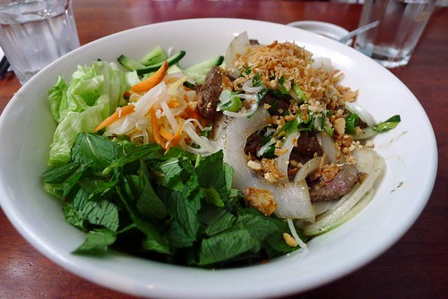 Beef vermicelli salad@Kim Thanh