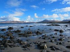 IMG_2892B (lusciousblopster) Tags: ocean county ireland sea mountain snow west galway beach landscape atlantic connemara shore peninsula renvyle 2011