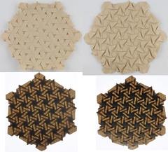 Tessellation (ClosedUnsink) Tags: origami paper fold folding joel cooper elephant hide math mathematics tess tessellation